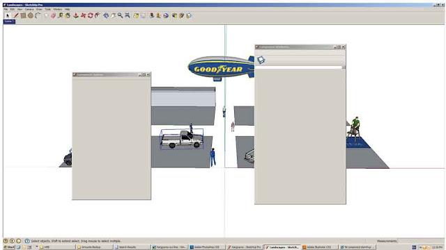 component - Component Sketchup8 ใช้งานไม่ได้ครับ Sketch