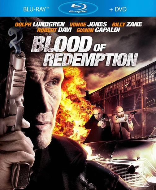 Filme Poster Blood of Redemption BRRip XviD & RMVB Legendado
