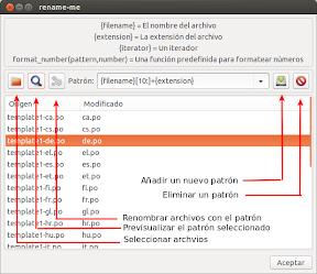 Renombrado masivo de archivos en Ubuntu con Python. Uso.