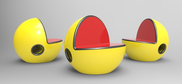 Pac Man Chair