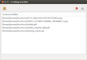 Borrado seguro de archivos en Ubuntu con Crushing-Machine
