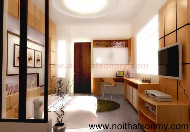 Mẫu thiết kế nội thất phòng khách 332