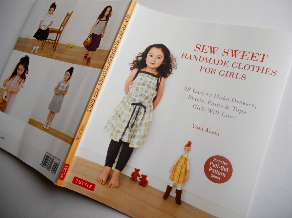 sewnbyangela: Handmade Clothes for Girls: A Sewing Pattern Book Review