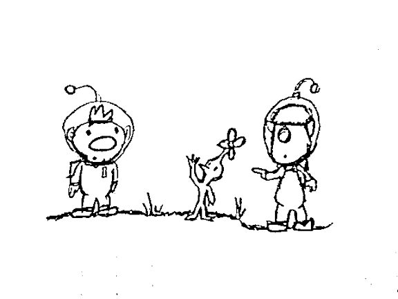 pikmin bulborb coloring pages | Pikmin 2 Coloring Pages Coloring Pages