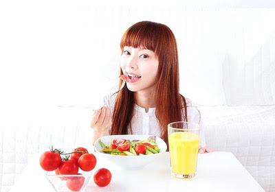 อาหารลดสิว, อาหารป้องกันสิว, อาหารรักษาสิว