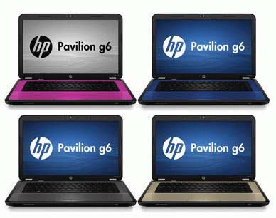 HP Pavilion g6 Series Laptop images