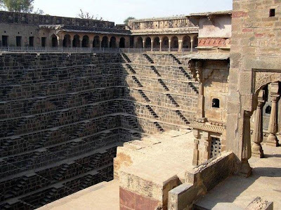 The Incredible Chand Baori A Famous Stepwell Situated In