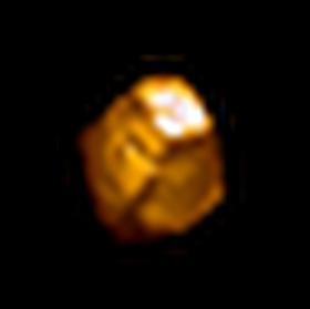 瑕疵的黃寶石