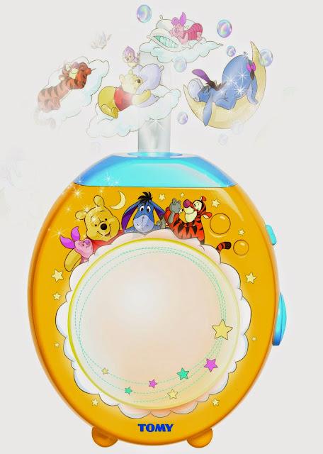 Đèn ngủ gấu Pooh cho bé Lullaby Dreams Lightshow sinh động đẹp mắt