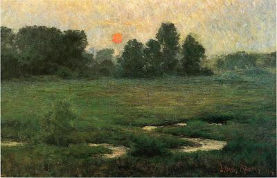 J. Ottis Adams - An August Sunset, 1894