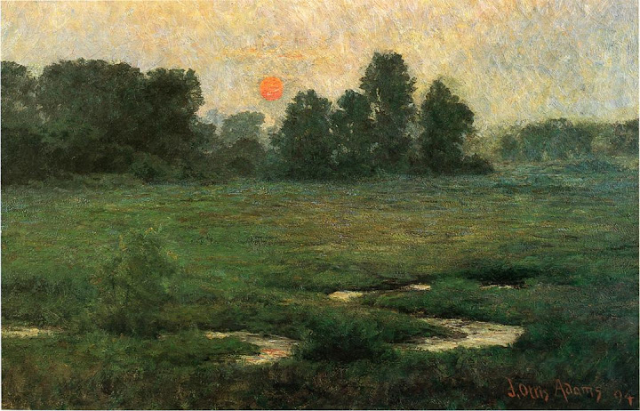 J. Ottis Adams - An August Sunset, 1894