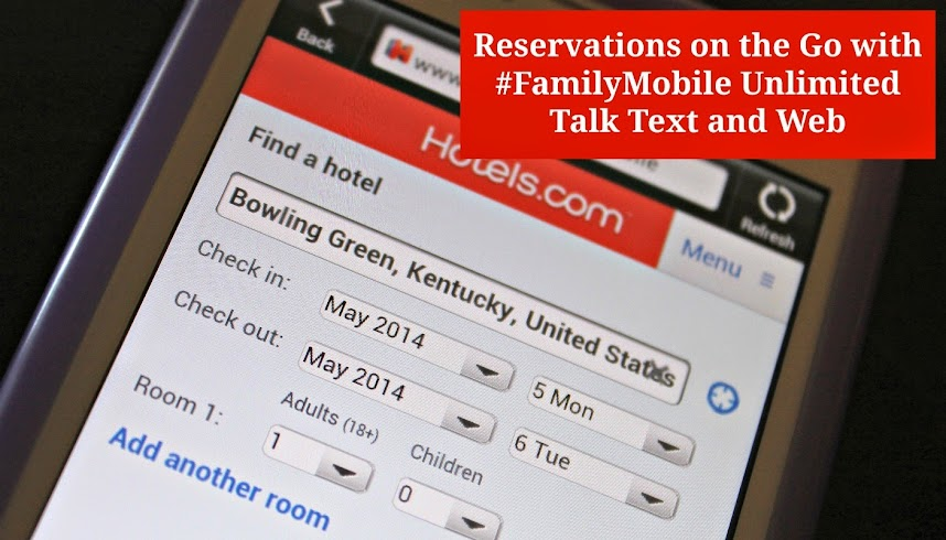 Reservations on the Go with Walmart #FamilyMobile Unlimited Talk Text and Web #shop