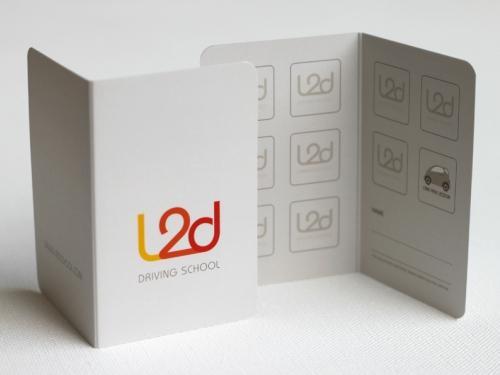 L2D-driving-school-business-card-design