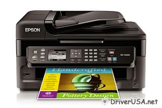 Recent version driver Epson Workforce WF-2540 printer – Epson drivers
