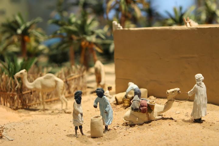 Nachbildung eines afrikanischen Dorfes