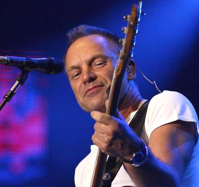 Sting Live in Manila 2012, Gordon Matthew Thomas Sumner CBE