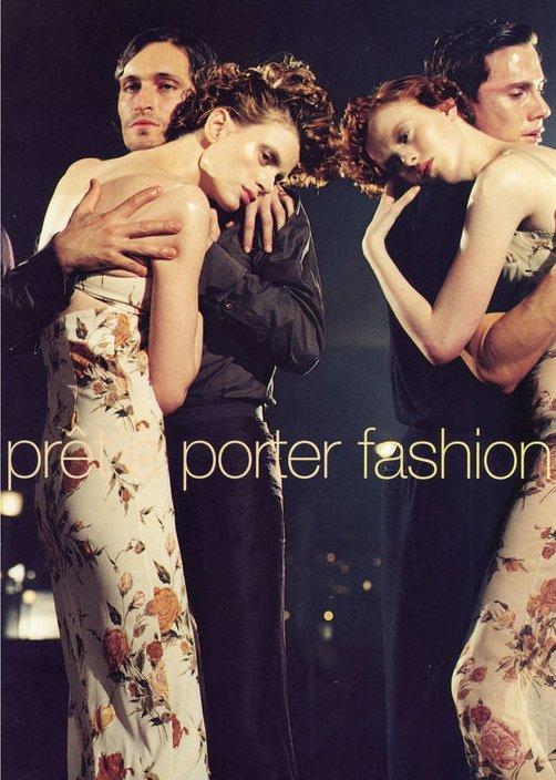 Amber Valletta, Naomi Campbell, Kristen McMenamy & Karen Elson para Vogue Italia (marzo 1997)