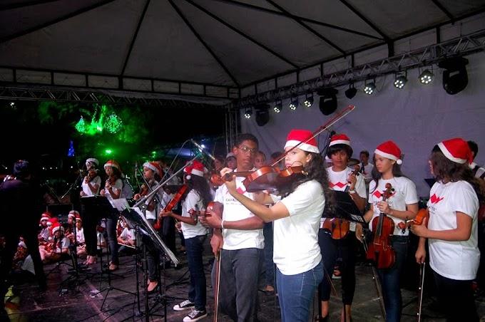 Natal em Natal: Orquestra Casa Talento e espetáculo Um Presente de Natal em Mirassol