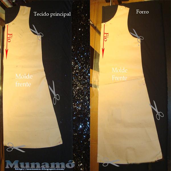 Molde de vestido simples passo a passo