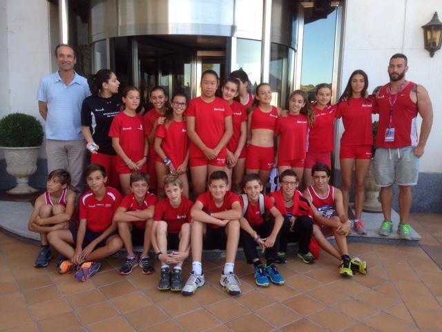Cto España Infantil por equipos