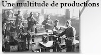 1.3 - Une multitude de productions
