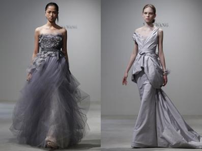 All Wedding Files Grey Wedding Dresses