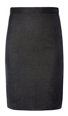 Mango High-Waisted Pencil Skirt