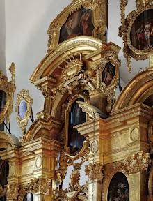 Иконостас Преображенской церкви в Таллине.