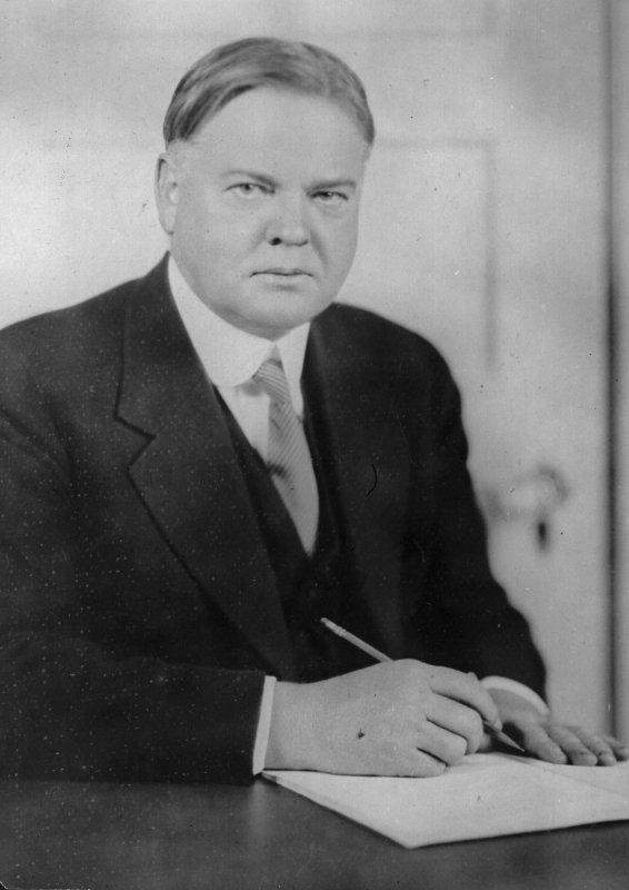 Tổng thống thứ 31 của Hoa Kỳ – Herbert Hoover. (Ảnh: Internet)