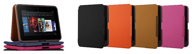 Kindle Fire HD専用スタンド型レザーカバー