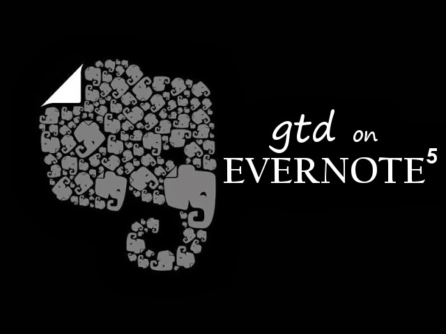 Implementar GTD amb Evernote 5