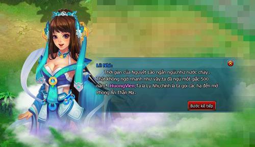 Phi Tiên Online ra mắt trang chủ và cho đăng ký