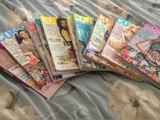 Bye bye company magazine:(♥