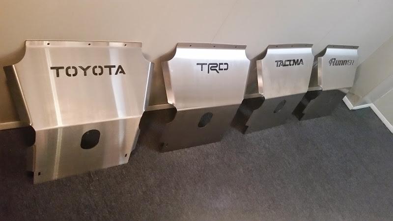 1st gen stainless steel skid plates tacoma world. Black Bedroom Furniture Sets. Home Design Ideas