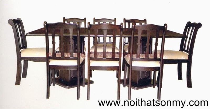 Bộ bàn ăn gỗ 14