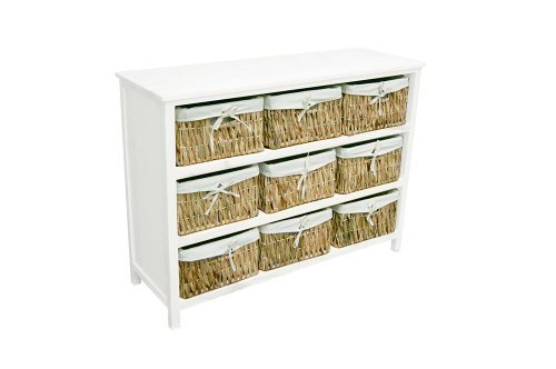 Awesome Water Hyacinth Storage Baskets And Drawer Units