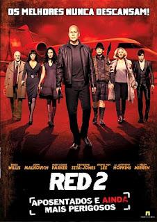 Filme Poster RED 2 - Aposentados e Ainda Mais Perigosos R5 XviD Dual Audio & RMVB Dublado