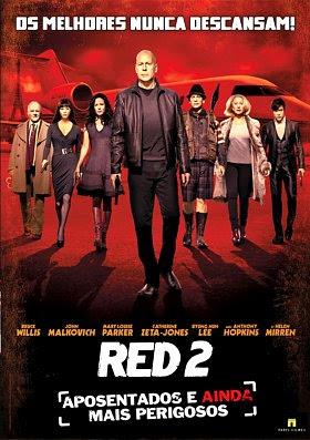 Filme Poster RED 2 - Aposentados e Ainda Mais Perigosos TS XviD & RMVB Dublado