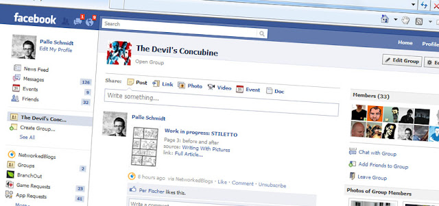 The Devil's Concubine: FACEBOOK AND TWITTER