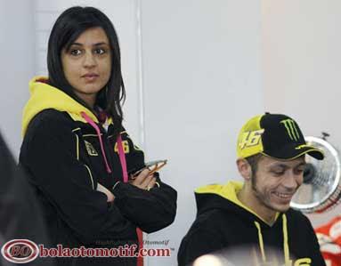 Mantan Pacar Gebetan Valentino Rossi marwa klebi