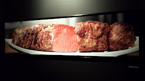 Checking out the Modernist Cuisine Exhibit at Pacific Science Center: A Panorama of Steak by Nathan Myhrvoid 2011