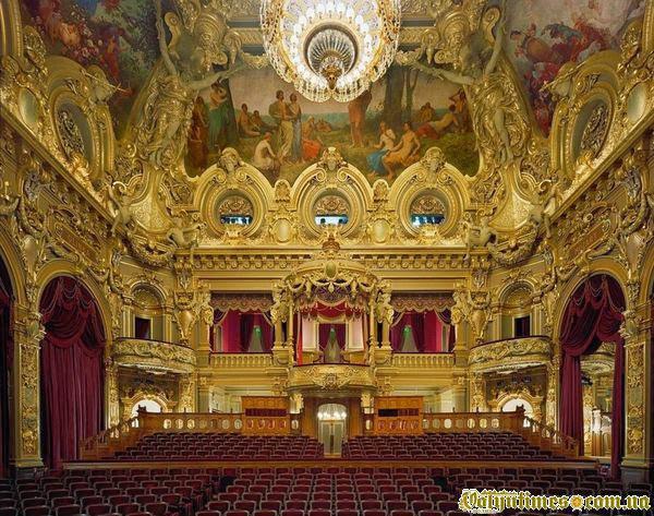 Опера Монте-Карло в Монако
