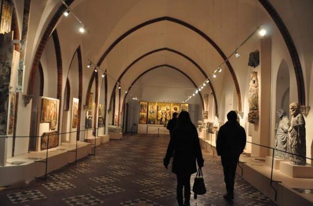 城堡裡的展示長廊