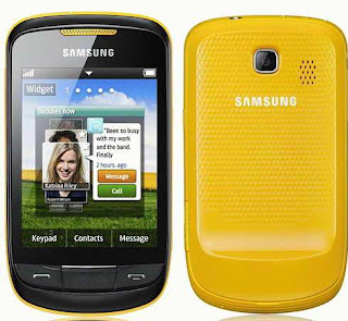 Samsung Corby II GT-S3850 Smartphone pics