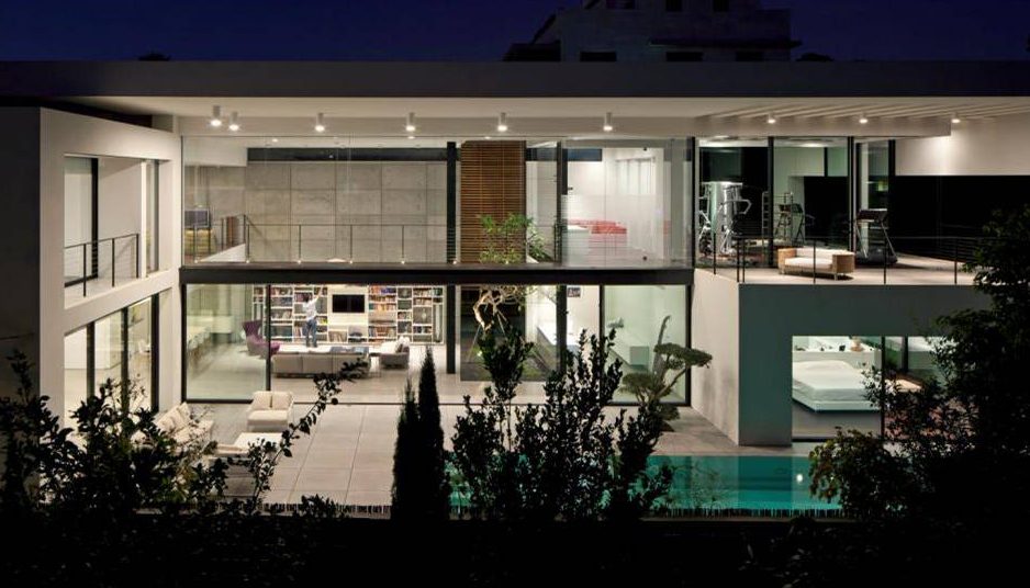 Private home in Haifa, Israel design by Pitsou kedem architects