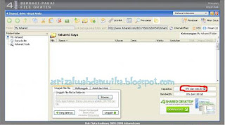 Cara Membuat Account Premium 4shared.com Gratis