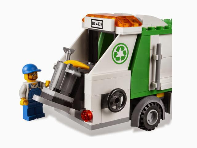 4432 レゴ シティ タウン ごみ収集車