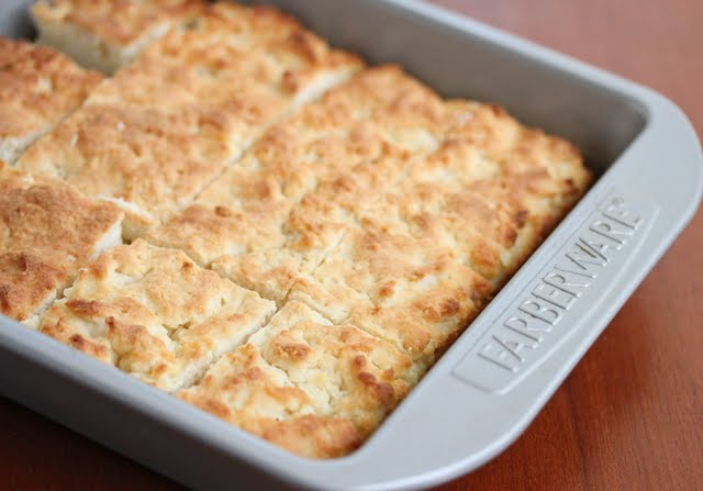 photo of biscuits in a pan