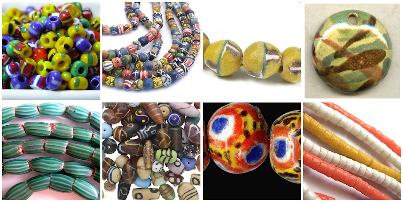 Assorted African Trade Beads