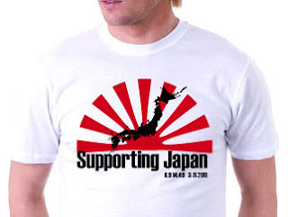 Support Japan T-shirts